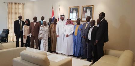 اتفاقية منحة بين دولة قطر وغامبيا بقيمة ثلاثة ملايين دولار