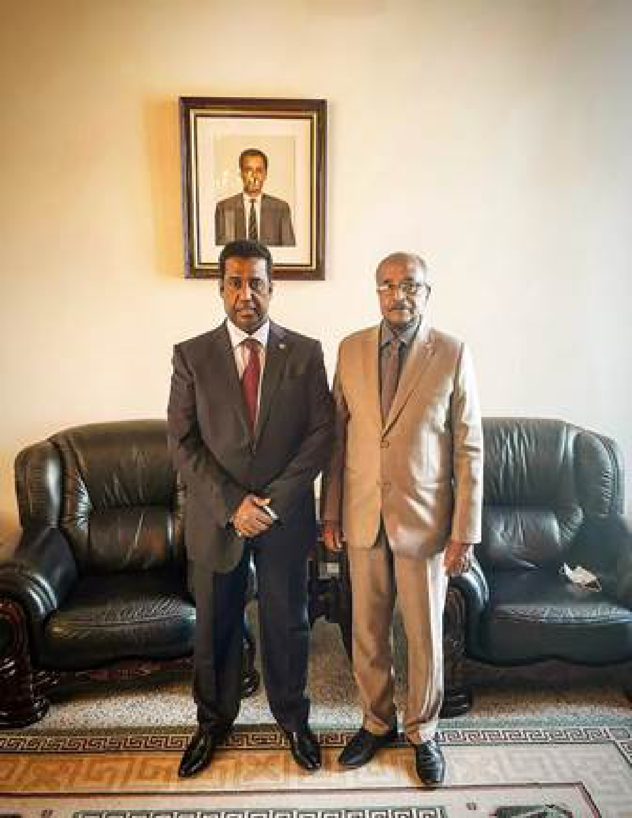Eritrean Minister of Foreign Affairs Meets Qatari Acting Charge d'Affaires