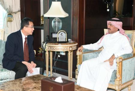 الأمين العام لوزارة الخارجية يجتمع مع الأمين العام لحوار التعاون الآسيوي