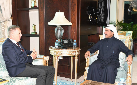Foreign Ministry's Secretary General Meets German Ambassador
