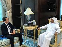 Foreign Ministry Secretary-General Meets French Ambassador, US and UK Charges d'Affaires