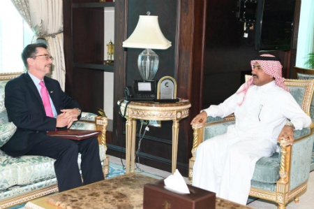 الأمين العام لوزارة الخارجية يجتمع مع القائم بالأعمال بالإنابة في السفارة الأمريكية