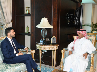 Foreign Ministry's Secretary General Meets Italian Ambassador
