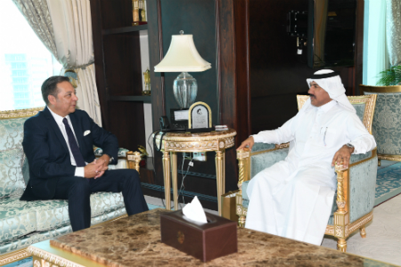 Secretary General of Ministry of Foreign Affairs Meets Ambassador of Argentina