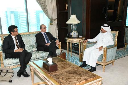 الأمين العام لوزارة الخارجية يجتمع مع مسؤول في الاتحاد الأوروبي