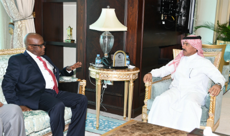 Foreign Ministry's Secretary General Meets Under Secretary of Somalia Foreign Ministry
