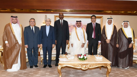 Foreign Ministry's Secretary General Holds Farewell Ceremony for Outgoing Ambassadors of Somalia, South Africa, GECF Secretary General