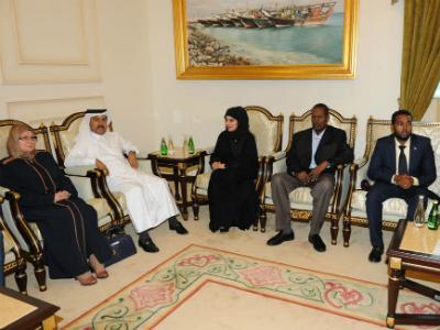 الأمين العام لوزارة الخارجية يلتقي عددا من الدبلوماسيين الأجانب