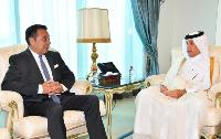Minister of State for Foreign Affairs Receives Copy of Credentials of Ambassador of Argentina