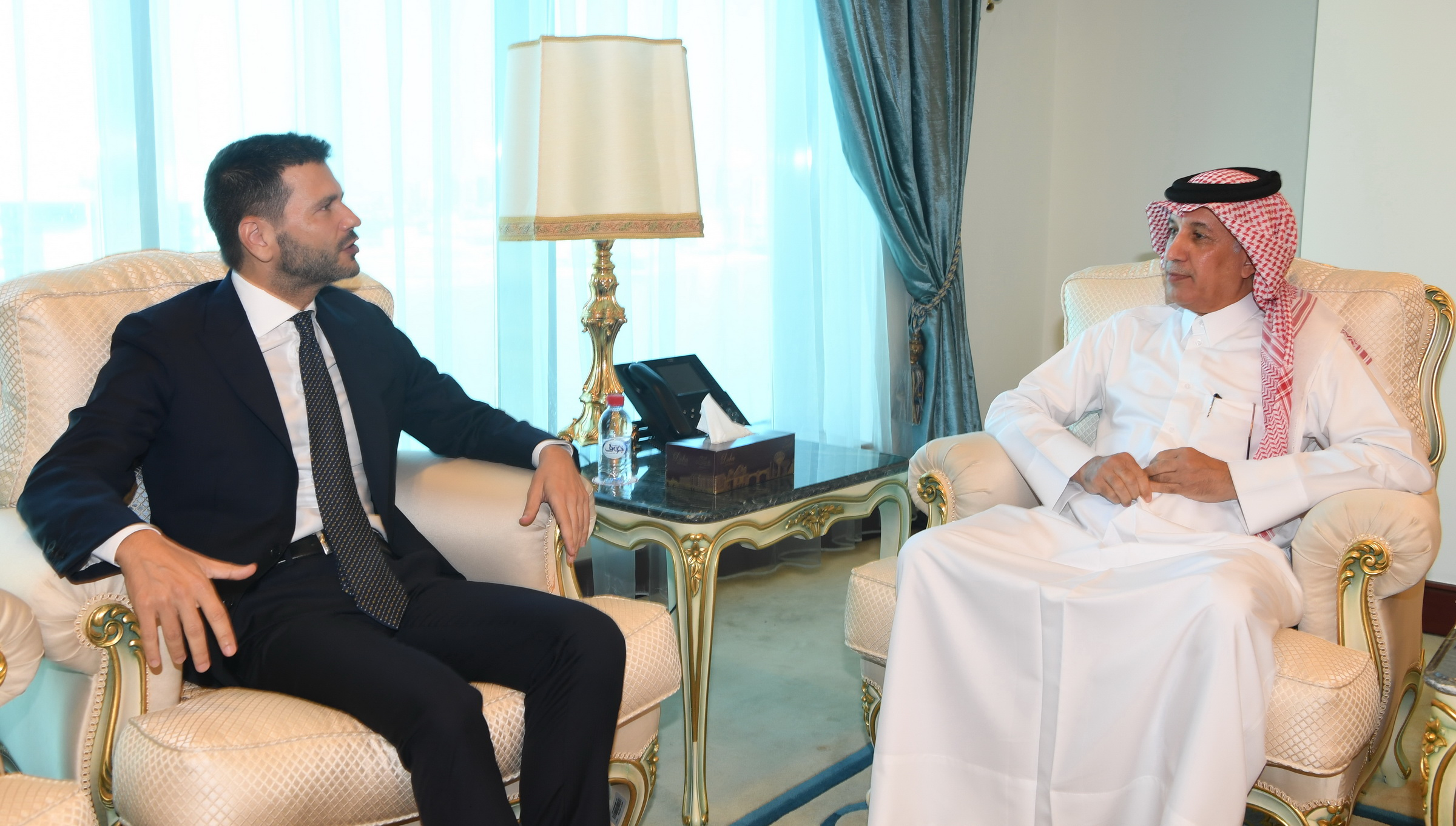 Minister of State for Foreign Affairs Meets Italian Ambassador