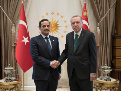 Turkish President Meets Deputy Prime Minister and Foreign Minister