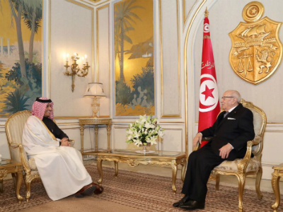 President of Tunisia Meets Deputy Prime Minister and Foreign Minister