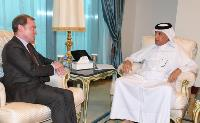 Minister of State for Foreign Affairs Meets Ambassador of France