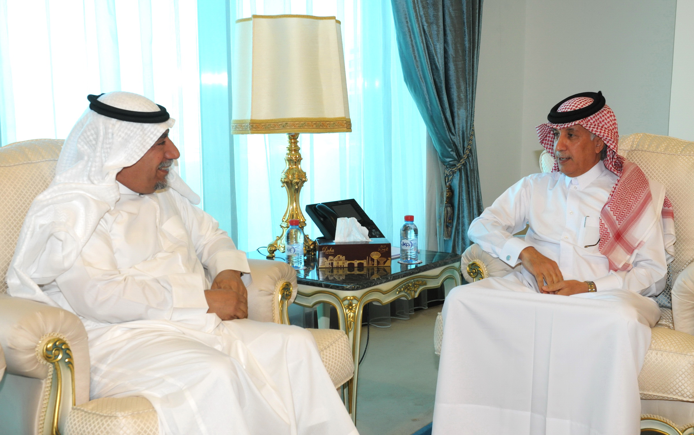 Minister of State for Foreign Affairs Meets Kuwait's Ambassador