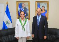 Foreign Minister of El Salvador Meets Qatari Acting Charge d'Affaires