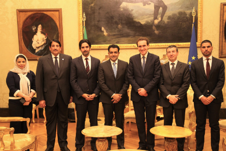 Foreign Minister's Special Envoy for Counterterrorism Meets Italian Official