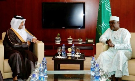 Special Envoy of Minister of Foreign Affairs Meets Chairperson of African Union Commission