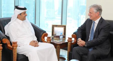 المبعوث الخاص لوزير الخارجية يجتمع مع مبعوث الرئيس الأمريكي لشؤون الرهائن
