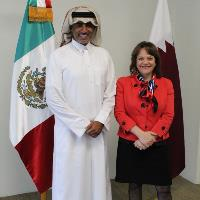 Mexico's Undersecretary of Foreign Affairs Meets Qatar's Ambassador