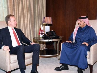 سعادة وزير الخارجية يجتمع مع وزير الشؤون الخارجية النرويجي