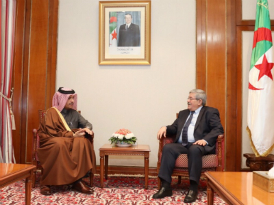 Algerian Prime Minister Meets Deputy Prime Minister and Foreign Minister