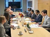 First Political Consultations Between Qatar, Lithuania Held