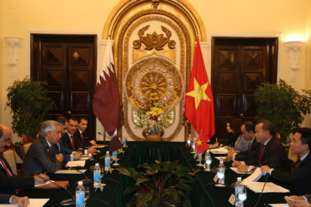 Second Round of Political Consultations between Qatar and Vietnam Begins
