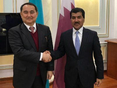 Qatar and Kazakhstan Hold First Session of Political Consultations