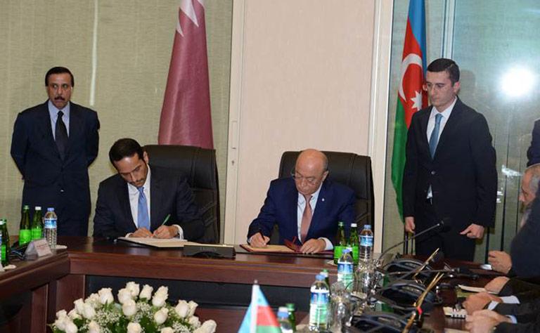 انعقاد الدورة الأولى للجنة المشتركة بين دولة قطر وجمهورية أذربيجان
