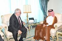 Minister of State for Foreign Affairs Receives Copy of Credentials of Ambassador of Portugal