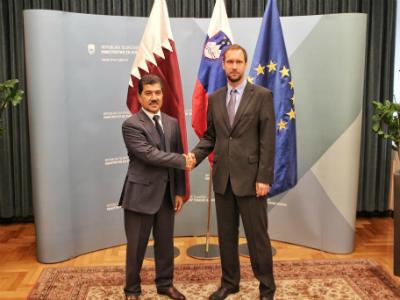 جولة مشاورات سياسية بين قطر و سلوفينيا