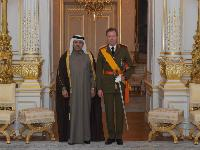 Grand Duke of Luxembourg Receives Credentials of Qatar's Ambassador