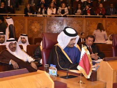 Qatar Participates in Arab Emergency Ministerial Meeting on Jerusalem