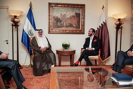 دولة قطر تشارك في حفل تنصيب رئيس جمهورية السلفادور