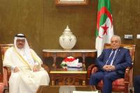 Algerian National People's Assembly Speaker Meets Qatar's Ambassador