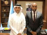 Prime Minister of Somalia Meets the State of Qatar's Ambassador