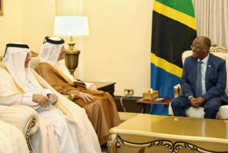 President of Tanzania Meets Deputy Prime Minister and Minister of Foreign Affairs