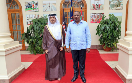 رئيس جمهورية كينيا يستقبل نائب رئيس مجلس الوزراء وزير الخارجية