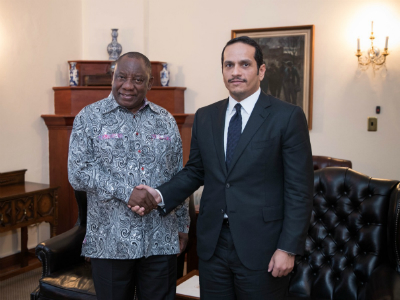 South African President Meets Deputy Prime Minister and Minister of Foreign Affairs