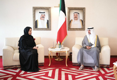 Kuwaiti National Assembly Speaker Meets Spokesperson of Ministry of Foreign Affairs