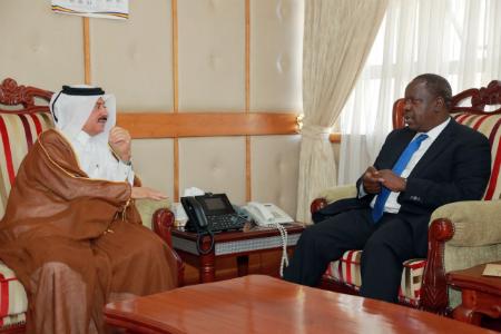 رئيس مجلس الوزراء يبعث رسالة إلى وزير داخلية كينيا