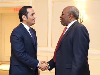 رئيس وزراء أوغندا يجتمع مع نائب رئيس مجلس الوزراء وزير الخارجية