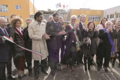 Italian Enrico Mestica School Thanks Qatar for Rebuilding School Complex after Earthquake