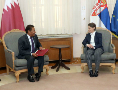 Prime Minister Sends Message to Serbian Counterpart