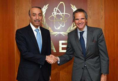 رسالة من نائب رئيس مجلس الوزراء وزير الخارجية إلى المدير العام للوكالة الدولية للطاقة الذرية