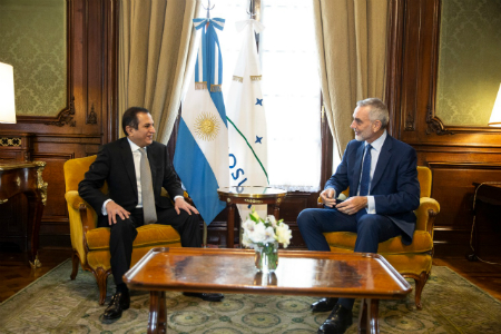 Deputy Prime Minister, Minister of Foreign Affair Sends a Message to Argentine Minister of Foreign Affairs