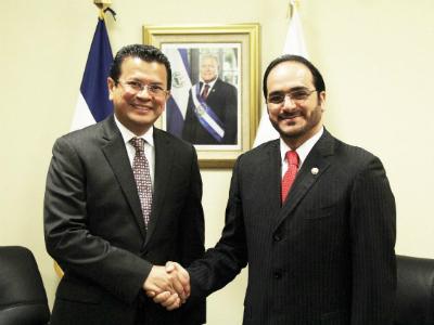 رسالة من نائب رئيس مجلس الوزراء وزير الخارجية إلى وزير العلاقات الخارجية السلفادوري
