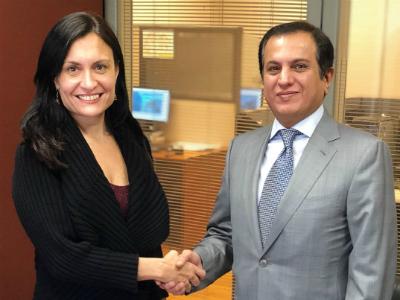 رسالة من نائب رئيس مجلس الوزراء وزير الخارجية إلى وزير خارجية الارجنتين