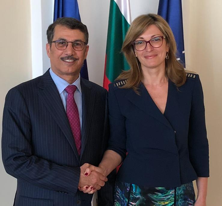 رسالة خطية من نائب رئيس مجلس الوزراء وزير الخارجية لنائبة رئيس الوزراء ووزيرة الخارجية البلغارية