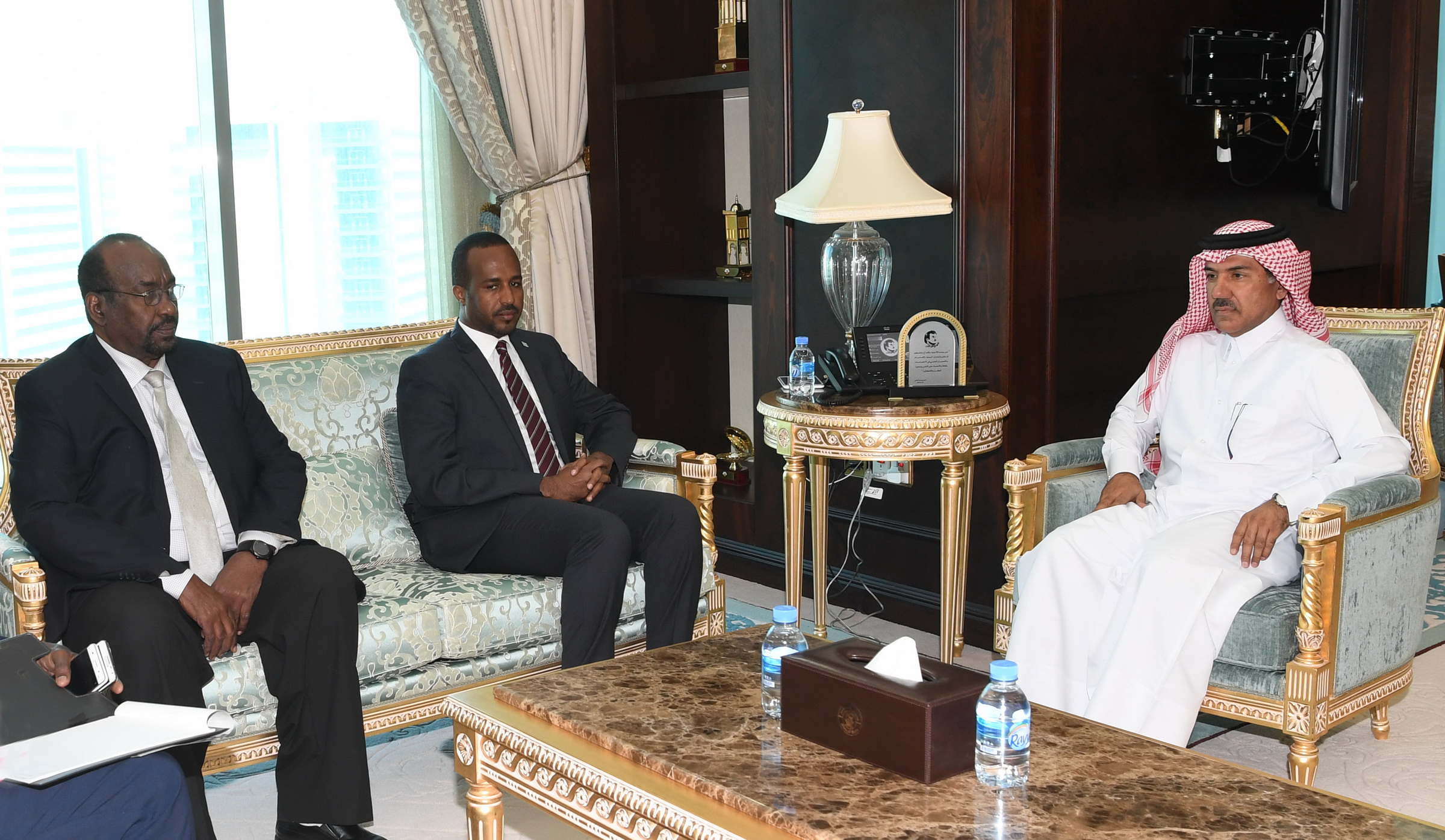 Foreign Ministry Secretary-General Meets Minister of Planning and Investment of Somalia